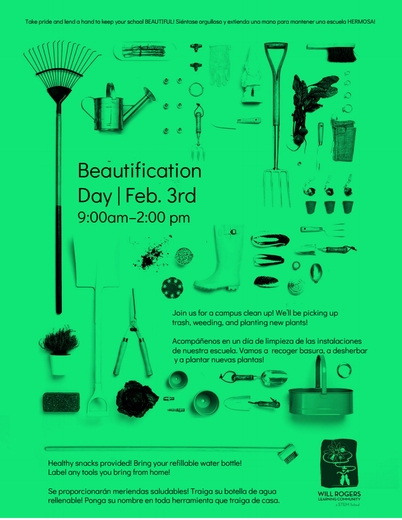 beautification flyer
