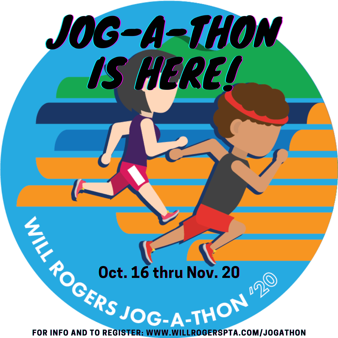 Jog-a-thon is here! Click to go to the page